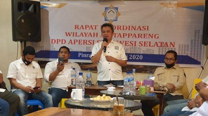 DPD Apersi Sulsel Keluhkan Lambatnya Perizinan dari Pemkot Parepare