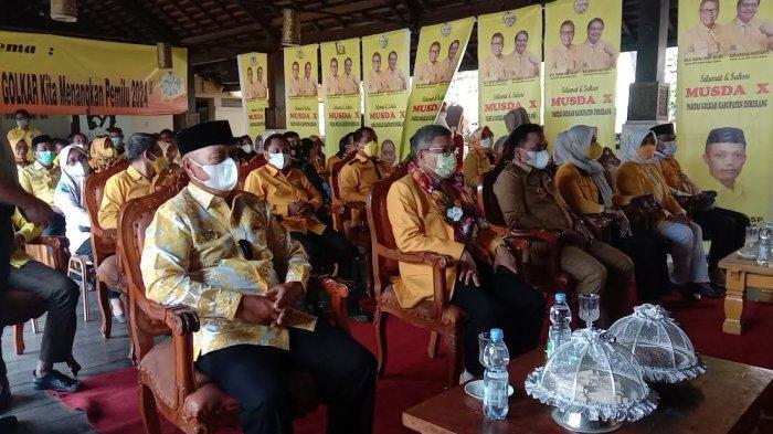Buka Musda X Golkar Enrekang, Taufan Pawe Tegaskan Tak Asal Tunjuk Ketua DPD II