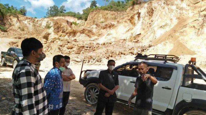 DPRD dan Dinas Lingkungan Hidup Barru Pantau Aktivitas Tambang Galian C di Bottolai