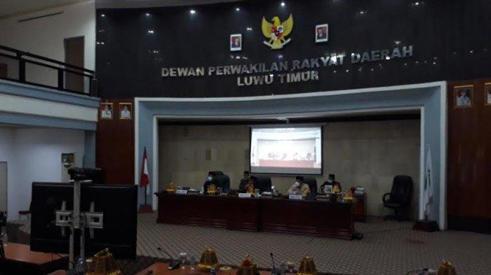 Molor Satu Jam, DPRD Luwu Timur Tetapkan Husler-Budiman Pemenang Pilkada 2020