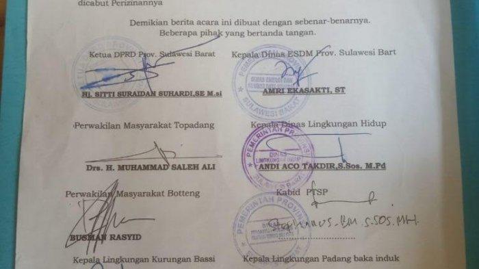 DPRD dan Dinas ESDM Sulbar Hentikan Proses Perizinan Tambang Zircon di Mamuju