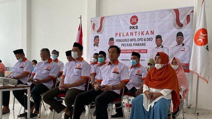DPW PKS Lantik Pengurus Dewan Pengurus Tingkat Daerah Kabupaten Pinrang