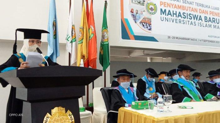 Majdah Minta Mahasiswa Baru UIM Mampu Bersaing hingga ke Level Global