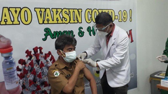 Vaksinasi Tenaga Medis Tahap Dua di Luwu Timur Ditarget Selesai 26 Februari 2021
