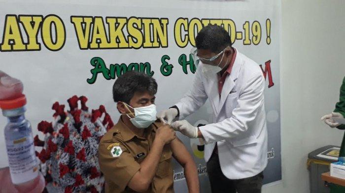 Masih Ada 1000 Tenaga Kesehatan di Luwu Timur Belum Divaksin