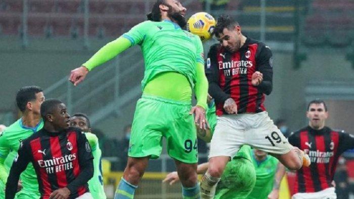 TONTON Live Streaming Liga Italia AC Milan vs Atalanta via Live Streaming RCTI di Sini Gratis