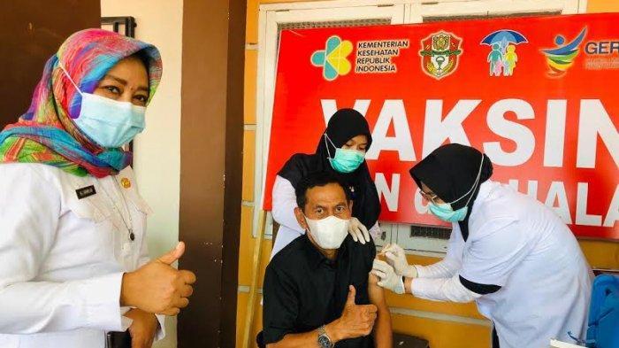 Vaksinasi Tahap Kedua di Wajo Sasar ASN dan TNI/Polri