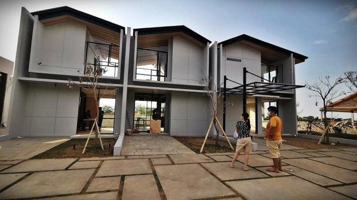 FOTO: Drive Thru Open House Show Unit Rolling Hills di Kawasan Tanjung Bunga