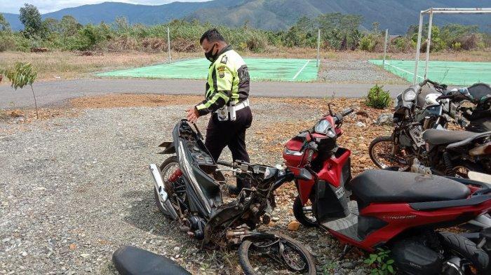 Bukan Pasutri, Korban Meninggal Lakalantas di Towuti Luwu Timur Bapak Anak