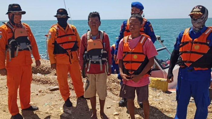 Dua Malam Hilang, Dua Nelayan di Bone Ditemukan Selamat