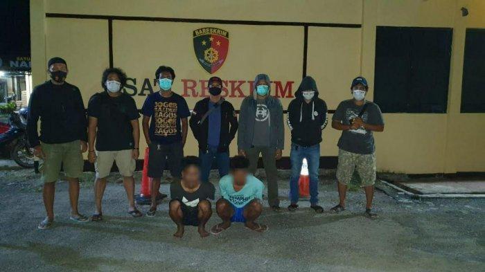 Dua Tahun DPO, Dua Tukang Batu di Pinrang Diringkus Polisi Usai Curi Kabel Penghubung Listrik