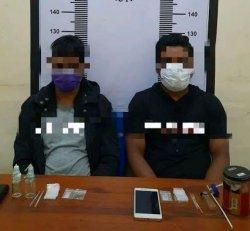 Satnarkoba Palopo Tangkap Dua Pengguna Sabu-sabu