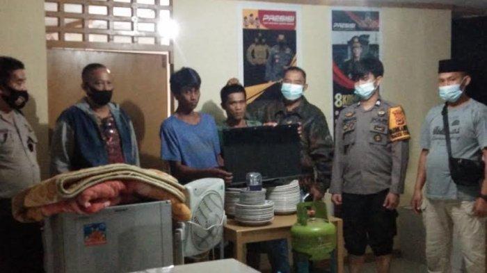 Ditangkap Bobol Rumah Kosong, Dua Pemuda di Pitumpanua Wajo Bakal Lebaran di dalam Sel
