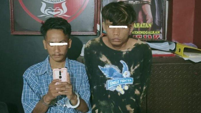 Gasak Hp Relawan Bone, Dua Pemuda di Mamuju Diringkus Tim Phyton