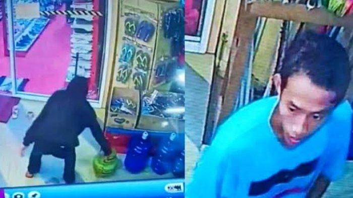 Dua Pemuda di Toraja Terekam CCTV Curi Tabung Gas Elpiji, Pelaku Gunakan Jaket Warna Hitam