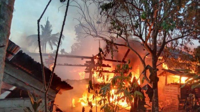 Kasihan, Korban Kebakaran di Jl Kenari Wasuponda Belum Terima Bantuan dari Pemkab Luwu Timur