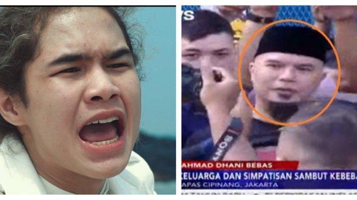 Dul Jaelani Jatuh dan Nyaris Terinjak saat Jemput Ahmad Dhani 'Woi Pelan-pelan! Dul Jatuh Nih'
