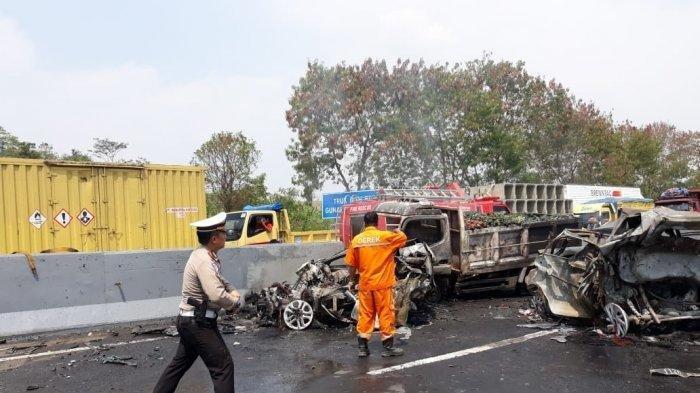 Langsung Dari TKP Pasca Kecelakaan Cipularang KM 92, Video Mobil Hancur & Kesaksian Korban Selamat