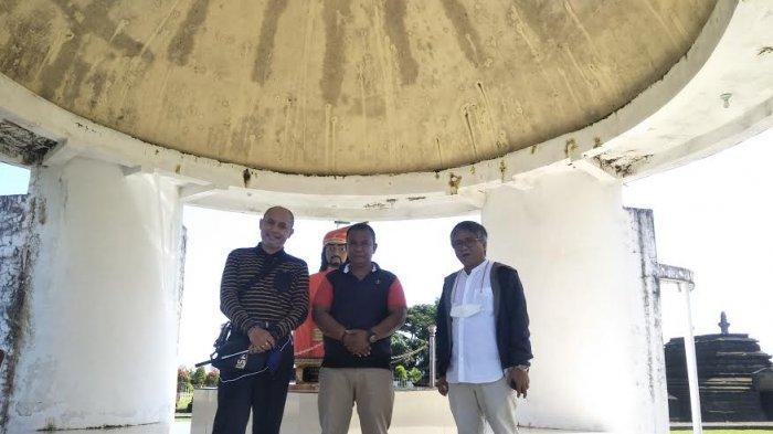 Direktur Pemberitaan Tribun Network Kompas Gramedia Kunjungi Makam Raja di Gowa