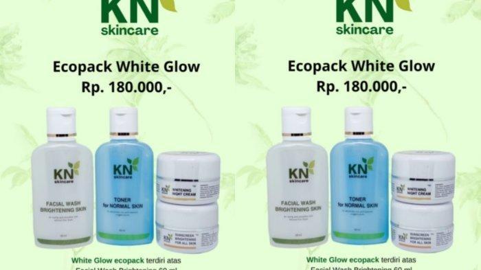 Ecopack White Glow by KN Skincare Hanya Rp 180 Ribu, Intip Manfaatnya