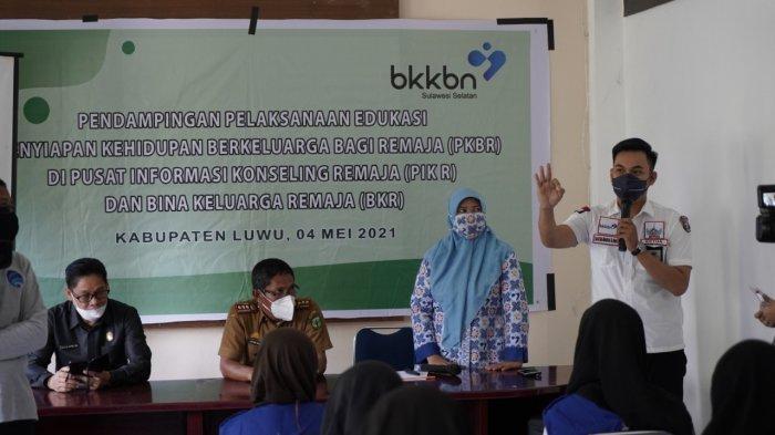 BKKBN Sulsel Edukasi Penyiapan Kehidupan Berkeluarga Bagi Remaja di Luwu