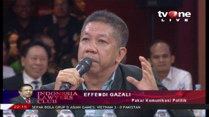 Masih Ingat Effendi Gazali? Majelis Hakim Pertanyakan Pakar Komunikasi Tiba-tiba Jadi Pakar Budidaya