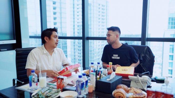 Raffi Ahmad Makan Siang Bareng Ketua HIPMI Mardani Haji Maming