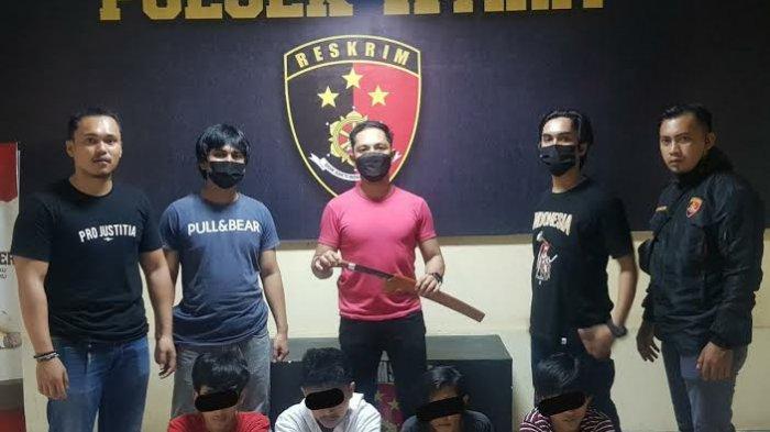 Kejar dan Ancam Korbannya dengan Parang, Empat Remaja di Palopo Diamankan Polisi