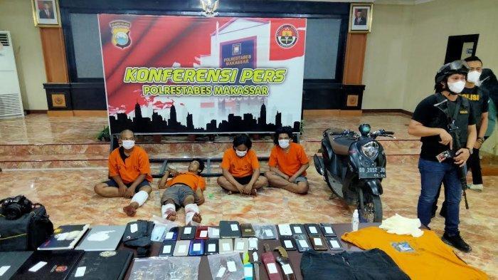 BREAKING NEWS: Polisi Tangkap Kawanan Perampok di Makassar