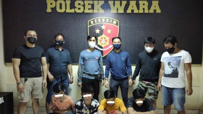 Palak Warga di Depan ATM, Empat Remaja di Palopo Ditangkap Polisi