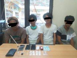 Polres Luwu Bekuk Pemilik dan Pengguna Sabu di Kelurahan Sabe