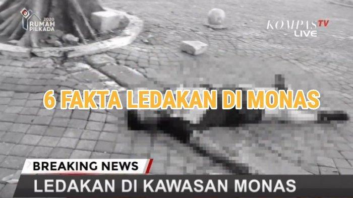 6 Fakta Ledakan di Monas Hari Ini: Bukan Bom, Dekat Kantor Tito Karnavian - Istana, Korban dari TNI