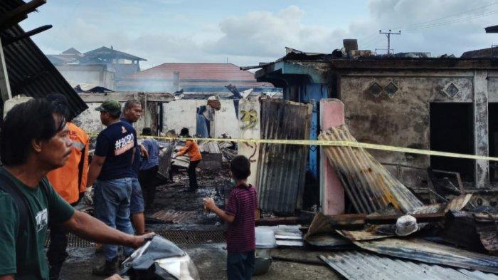 Total Enam Rumah Ludes Terbakar di Desa Nikkel Luwu Timur