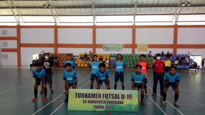 SMK 3 Enrekang Juara Turnamen Futsal U-19 Dispopar