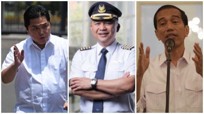 12 Fakta Menteri BUMN Erick Thohir Copot Dirut Garuda Indonesia Ari Ashkara: Sekampus Jokowi, Gaji