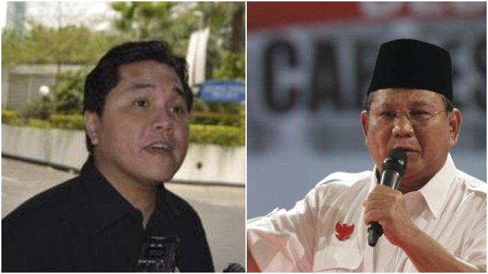 Isi Chat Erick Thohir di WhatsApp Bikin Prabowo Subianto Keluar, Respon Wishnutama, Nadiem Makarim?