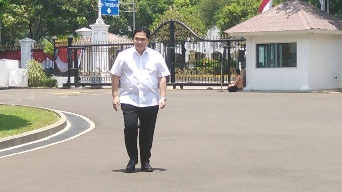Apa Benar Erick Thohir Ditunjuk Sebagai Menteri di Sektor Ekonomi?