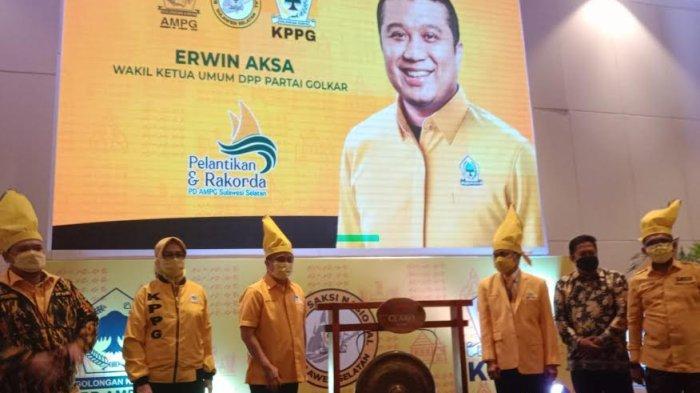 Erwin Aksa Kawal Konsolidasi AMPG dan KPPG Sulsel, Target Menang Pemilu 2024