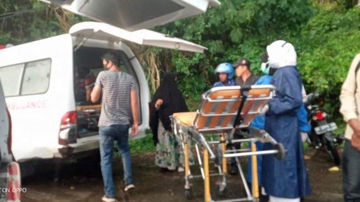 BREAKING NEWS: Ambulans dari Mamasa Kecelakaan di Mamuju, Pasien Rujukan Meninggal