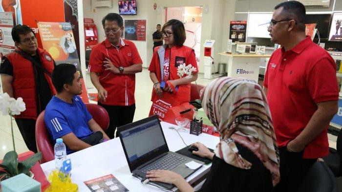 Awal Tahun 2020, Manajemen Telkomsel Hadir Melayani Pelanggan di GraPARI