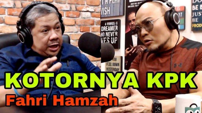 KPK Sebut Fahri Hamzah PKS Sebar Hoax, Tanggapi Video di YouTube Deddy Corbuzier, Termasuk soal Gaji