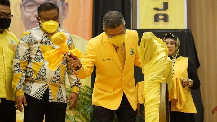 Fahsar Padjalangi Target Menangkan Golkar Semua Kompetisi di Bone