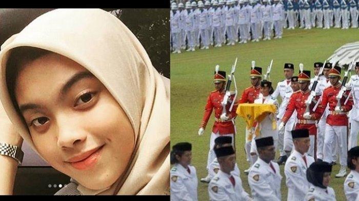 Posisinya Tetap Dikosongkan, Paskibra Tangerang Selatan Kibarkan Bendera Tanpa Aurell