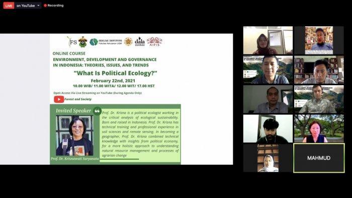 Fakultas Kehutanan Unhas Bahas Ekologi Politik