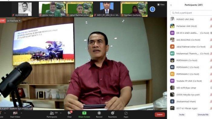 Fakultas Pertanian UMI Bahas Peluang dan Tantangan Generasi Milenial di Sektor Pertanian