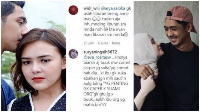 Suruh Arya Saloka Cuekin Putri Anne dan Pilih Amanda, Akun @widi_wiii Ramai-ramai Disorot Warganet