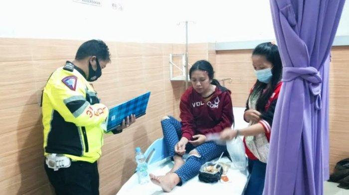 Dirawat di RS, Dua Penumpang Tukang Bentor yang Tewas Terlindas Truk di Toraja Utara Masih Trauma