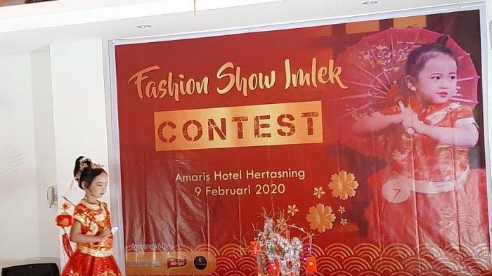 Amaris Hotel Hertasning Gelar Fashion Show Cilik Spesial Imlek