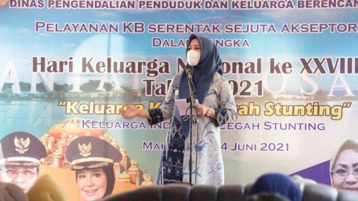 Wawali Makassar Fatmawati Rusdi Minta para Suami Dukung Istrinya KB, Target Sejuta Akseptor Harganas