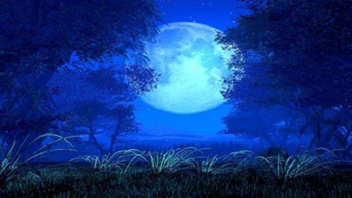Sayang Jika Dilewatkan! Fenomena Alam Bulan Biru Malam Ini Bertepatan Halloween, Apa Dampaknya?